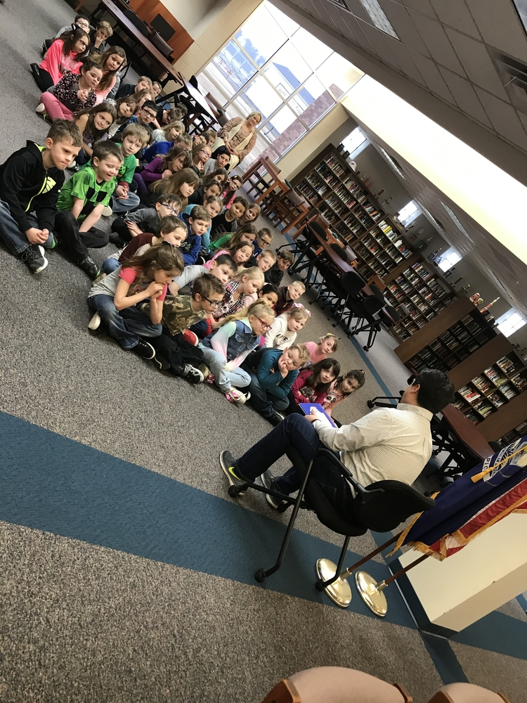 March Is Reading Month Kicks Off at Peck Elementary