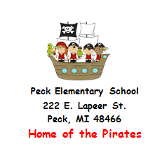 Important Dates for Peck Elementary
