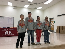 Sanilac County Battle of the Books Runners-Up