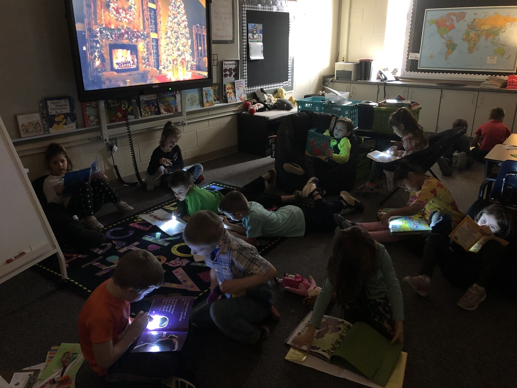 Flashlight Friday was a hit!