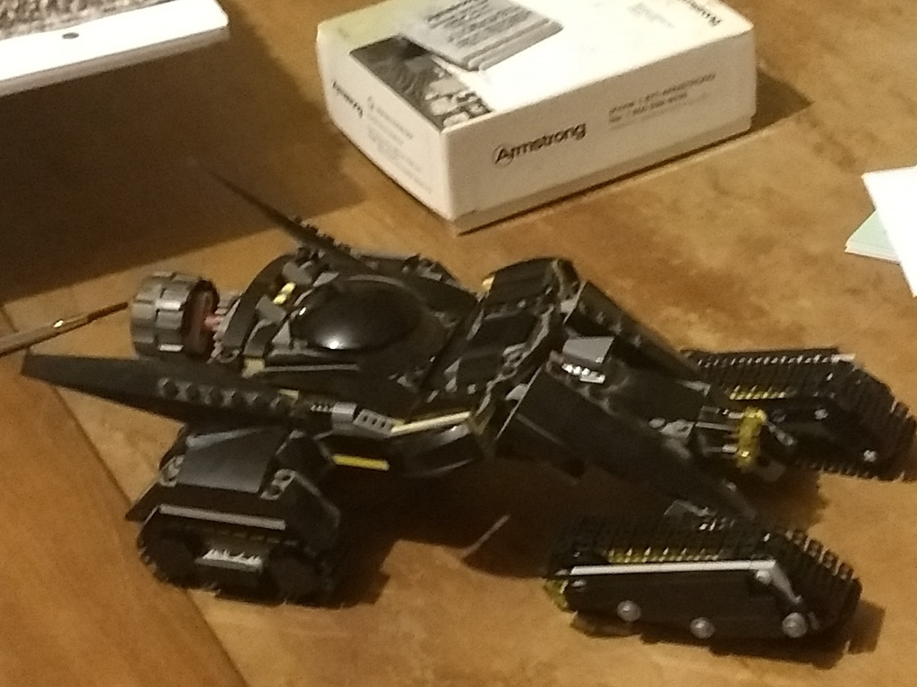 Carter Babcock's Lego Batman vehicle