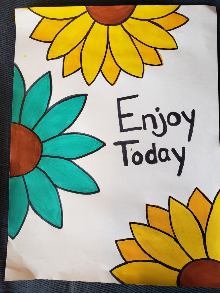 Adriana's Enjoy the Day painting