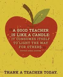 Teacher Appreciation Apple