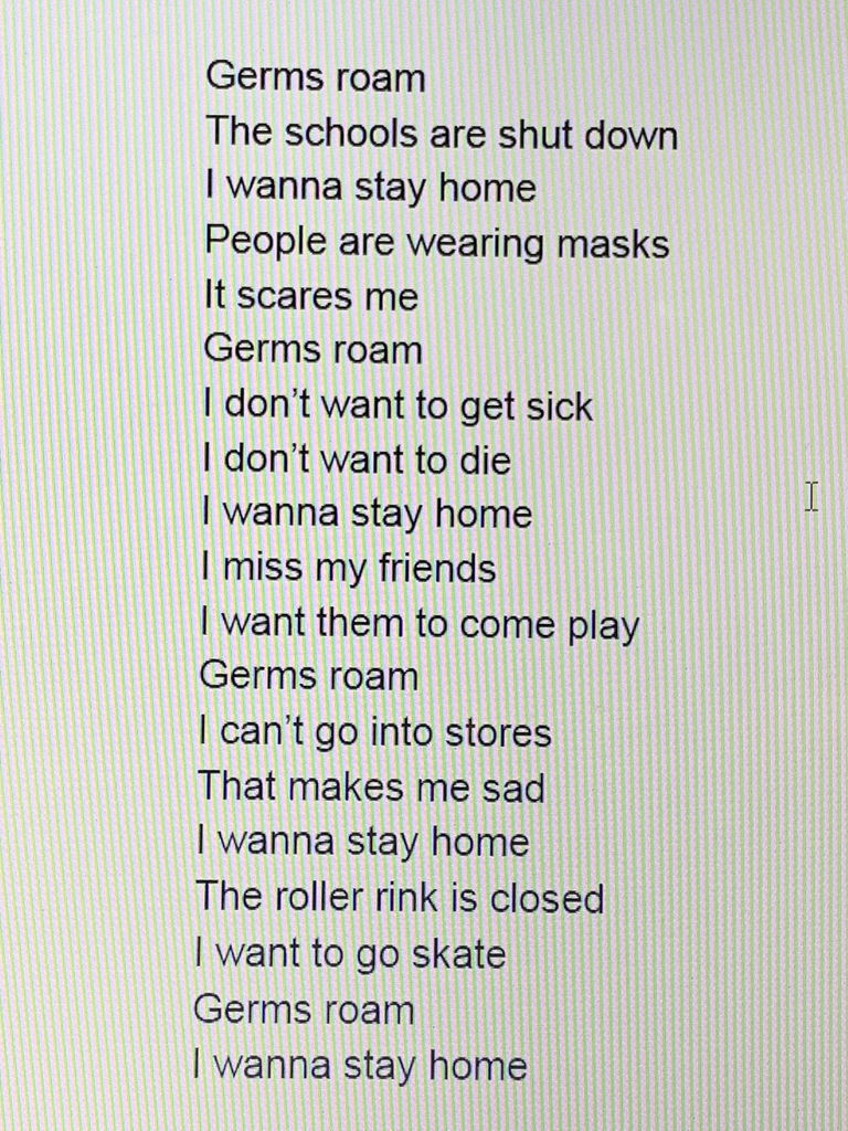 Fifth Grade Poem