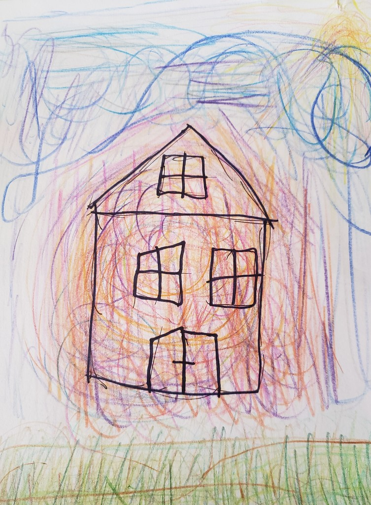 Amy's house drawing